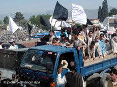 Scharia-Einführung im nordpakistanischen Swat-Tal; Foto: dpa