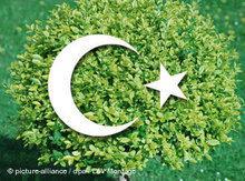 Symbolbild Umweltschutz und Islam; Foto: DW/dpa
