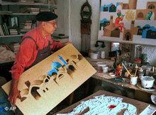 Iranischer Künstler; Foto: dpa