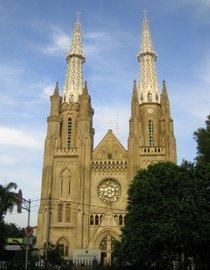 Kathedrale von Jakarta; Foto: Arian Fariborz
