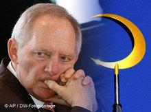 Bundesinnenminister Wolfgang Schäuble; Foto: AP/DW