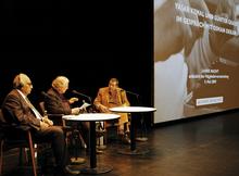 Yasar Kemal und Günter Grass; Foto: Stephan Schmidt