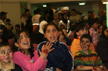 Kinder im Palestinian Happy Child Center; Foto: Muhanad Hamed