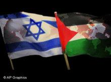 Symbolbild Israel/Palästina; Foto: AP Graphics