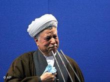 Expräsident Haschemi Rafsandschani; Foto: dpa