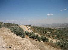 Sperranlage zwischen Israel und Palästina in der Nähe von Umm El Fahem; Foto: Jürgen Hube