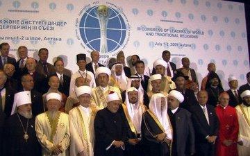 Teilnehmer des 3. Kongresses der Weltreligionen in Astana; Foto: Edda Schlager