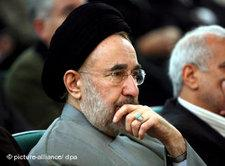 Irans früherer Präsident Mohammad Khatami; Foto: dpa