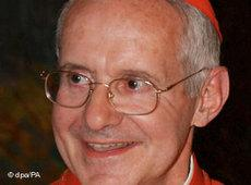 Jean-Louis Kardinal Tauran, Teilnehmer am Kongress der Weltreligionen; Foto: AP
