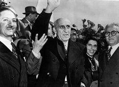 Mossadegh während eines Staatsbesuchs in New York 1951; Foto: DW