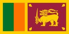 Nationalflagge Sri Lankas; Foto: Wikimedia Commons