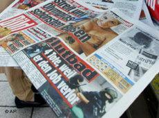 Bildzeitung; Foto: AP