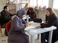 Frauen in Jordanien; Foto: AP