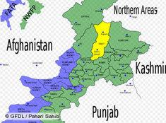 Karte des Swat-Tals in Pakistan; Foto: GFDL/DW