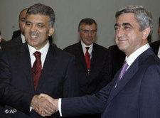 Abdullah Gül in Armenien; Foto: AP