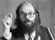 Allen Ginsberg; Foto: AP