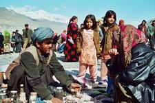 Basar in Ishkashim an der tadschikisch-afghanischen Grenze; Foto: Edda Schlager