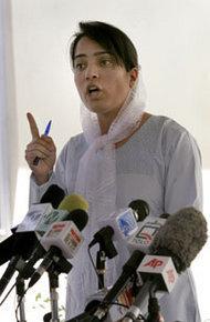 Malalai Joya; Foto: AP