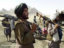 Taliban-Kämpfer in Afghanistan; Foto: dpa