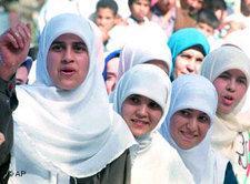 Junge Ägypterinnen, Foto: AP