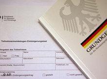 Teilnahmemeldung für Einbürgerungstest; Foto: AP