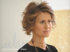 Asma Al- Assad; Foto: AP