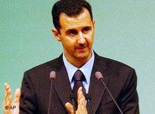 Bashar Al Assad; Foto: AP