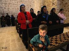 Aramäische Kirche im türkischen Haberli; Foto: AP