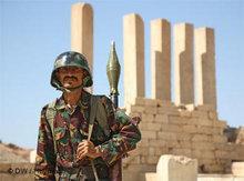 Soldat der jemenitischen Armee, Foto: DW/Heymach