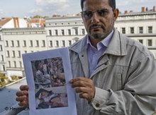 Yahya al-Huthi, politischer Kopf der Rebellen im Exil; Foto: DW/Heymach