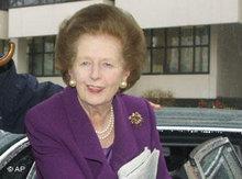 Margret Thatcher; Foto: AP