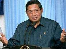 Indonesiens Präsident Susilo Bambang Yudhoyono; Foto: AP