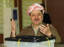 Massoud Barzani; Foto: AP