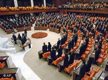 Ds parlament in Ankara; Foto: AP