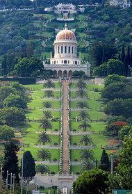 Schrein des Bab in Haifa, Israel; Foto: Wikipedia