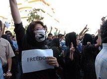 Proteste der Reformbewegung in Teheran; Foto: DW