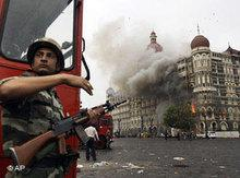 Anschläge auf das Hotel Taj Mahal in Mumbai; Foto: AP