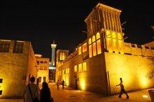 Die Altstadt von Dubai, Foto: AP
