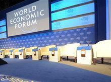 Tagung des Weltwirtschaftsforum; Foto: AP