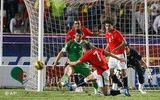 WM-Qualifikationspiel Algerien und Ägypten; Foto: AP