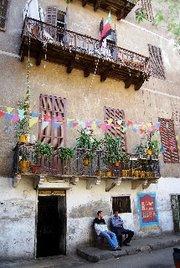 Außenansicht Townhouse in Kairo; Foto: Amira El Ahl