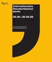 Logo des 9. Literaturfestivals Berlin