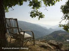 Blick auf die Bekaa-Ebene im Libanon; Foto: DW
