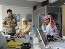 Verlegerfortbildung in Abu Dhabi; Foto: Gabriele Rubner