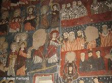 Fresken in der Kirche des Deir Mar Musa Klosters; Foto: Stephen Starr