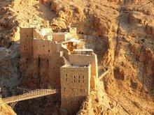 Das Kloster Deir Mar Musa; Foto Stephen Starr