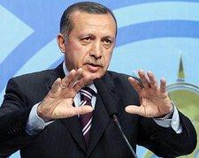 Der türkische Premier Recep Tayyip Erdogan; Foto: AP