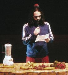 Szene aus Maqamat-Bühnenstück; Foto: privat