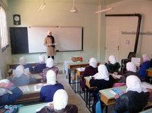 Schulklasse in Syrien; Foto: DW