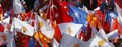 Wahlkampf in der Türkei; Foto: AP